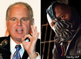 Rush Limbaugh suggested on his program Tuesday that the choice of villain (
