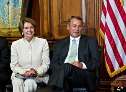 House Speaker John Boehner (R-Ohio) and House Minority Leader Nancy Pelosi (D-Calif.) both dodged questions about whether lawmakers should have to release their tax returns.