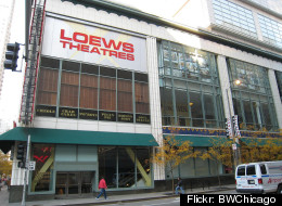 The AMC Loews 600 North theater has
