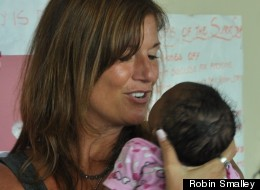 Robin Smalley is co-founder of Mothers2Mothers, a nonprofit that works to prevent mother-to-child transmission of the AIDS virus in Africa.