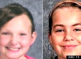 Elizabeth Collins (L), 8, and Lyric-Cook Morrissey, 10, of Evansdale, Iowa, have been missing since July 13.