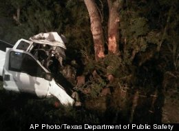 Border Patrol is investigating after a pickup truck crashed into trees in Goliad, reportedly killing 13 and injuring 10 others.