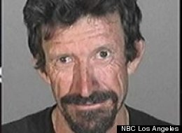 Clark Tabor, 52, was arrested Sunday for allegedly making threats at a California screening of