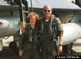 Laura DiSilverio went from Air Force intelligence officer to mystery writer.