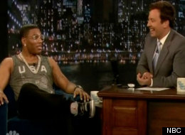 Nelly admits to Jimmy Fallon he unwinds by watching