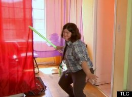 'The Virgin Diaries' features 29-year-old Julie, a Christian lesbian who has some serious light saber skills.