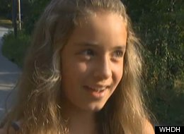 JoJo Keefe, 10, was bitten by a rabid bat after a complete stranger told her it was OK to hold it.
