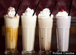 Cool off with adults-only milkshakes at 25 Degrees.