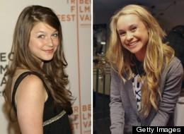 Melissa Benoist (R) and Becca Tobin (L) join