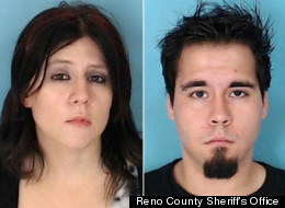 Tina F. Gianakon and Julian R. Call were arrested in a Walmart in Hutchinson, Kansas on charges of lewd and lascivious behavior and theft.