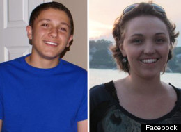 Yousef Gharbi, 16, on the left and Petra Anderson, 22, on the right, both suffered near-fatal gunshot wounds to the brain during the Friday July 20 midnight screening of