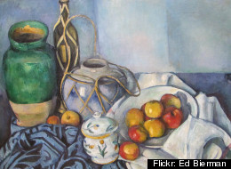 Still Life with Apples, Paul Cezanne, 1894