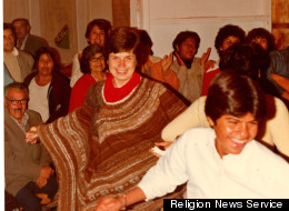 Sister Pat Farrell in the parish of Cristo Obrero in Arica, Chile about 1984. RNS photo courtesy Sisters of St. Francis