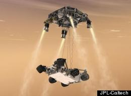 The Mars rover Curiosity is scheduled to touch down around 1:30 AM Sunday night.