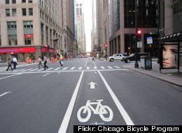 Mayor Emanuel announced plans to add 33 miles of bike lanes this year.