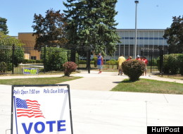 In the Michigan primary elections on August 7, 2012, voters were reportedly frisked at a Detroit polling location that opened approximately 90 minutes past the statewide time of 7 a.m. for polls to open.
