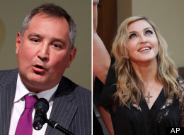 Russia's former envoy to NATO Dmitry Rogozin sent out a tweet this week criticizing Madonna for her public support of the punk band, Pussy Riot.