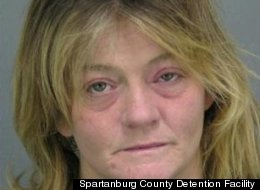 Tracey Smith allegedly tried to bite and slap cops, claiming she was the Karate Kid.