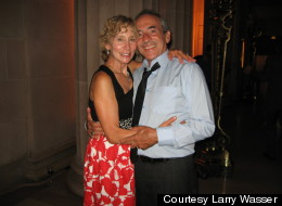 Laura Melon and Larry Wasser met on the beach as kids and nearly four decades later.
