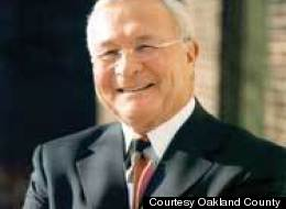 L. Brooks Patterson, Oakland County Executive, was involved in a serious car accident on August 10, 2012 (Courtesy Oakland County).