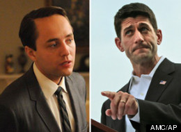 If Vincent Kartheiser can play Pete Campbell, can't he also play Paul Ryan?