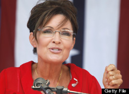 BELLEVILLE, MI, - JULY 14: Sarah Palin, former Governor of Alaska and 2008 Republican Vice Presidential candidate speaks at a 'Patriots in the Park' Tea Party rally at the Wayne County Fairgrounds July 14, 2012 in Belleville, Michigan. The event was sponsored by Americans for Prosperity: Michigan and the Willow Run Tea Party Caucus. (photo by Bill Pugliano/Getty Images)
