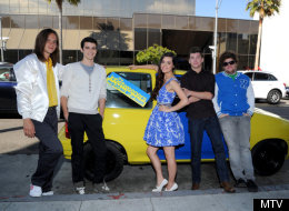 The cast of MTV's