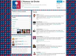 Capture d'écran du compte Twitter Humour de droite