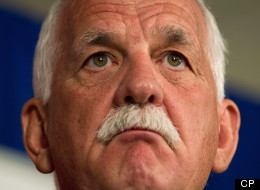 Publi Safety Minister Vic Toews. Union leaders representing more than 33,000 workers say federal budget cuts are threatening public safety. (THE CANADIAN PRESS/Darryl Dyck)