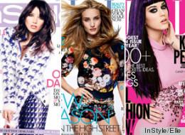 Daisy Lowe, Rosie Huntington-Whiteley y Katy Perry: Las portadas de revistas de moda que veremos en septiembre 2012.