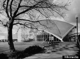 1953 Kresge Auditorium, MIT Campus, by Eero Saarinen