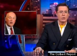 On an episode of The Colbert Report, Stephen Colbert mocked Michigan Senate candidate Pete Hoekstra for advocating to repeal the 17th amendment, which allows individuals to vote for Senate representation.