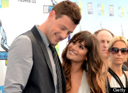 Lea Michele y Cory Monteith en los Do Something Awards