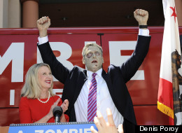 A. Zombie, America's first presidential candidate that is intentionally a zombie, is running on a campaign that includes health care for zombies.