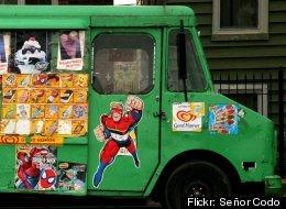 A Chicago ice cream truck.