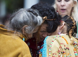 Families saw the Missing Women Commission of Inquiry report first before it was released publicly Monday. (Canadian Press)