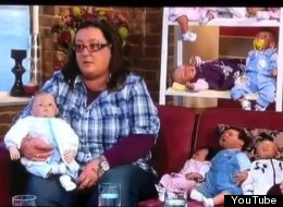 Alice Winstone said she generally doesn't take her dolls on outings because