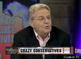 Jerry Springer ripped into the Tea Party, whom he likened to Osama bin Laden.