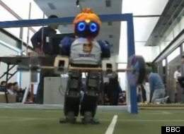The FIRA RoboWorld Cup, an annual athletic event for robots gives metal men from all over the world to test their mettle in various sports.