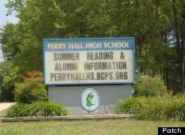 Police say that a student was shot on the first day of school at Perry Hall High School.