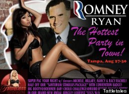 Strip club Tattletales welcomes RNC delegates and warns