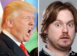 Donald Trump and Tim Heidecker