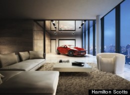 Singapore is now home to a new condo building that features two-car garages -- in every unit. (Photo courtesy Hamilton Scotts)