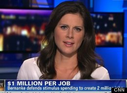 CNN anchor Erin Burnett made misleading claims about the Federal Reserve on her CNN show OutFront on Friday.