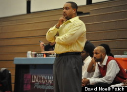 Bryan Craig, here coaching during a basketball game on Jan. 27, is also a guidance counselor at Rich Central High School.