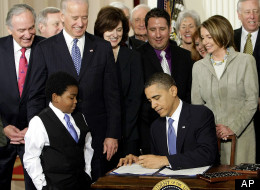 President Barack Obama signed the health care reform law on March 23, 2010. The law provides health insurance coverage to 30 million people but might still leave some with bills they can't afford.