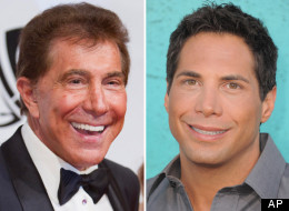Steve Wynn, Joe Francis (AP Photos)
