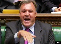 Ed Balls Had Some New Hand Gestures At PMQs As Cameron Repeatedly Attacked The Shadow Chancellor
