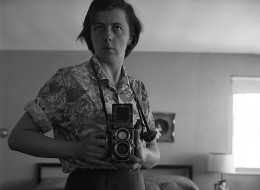 A self-portrait of late photographer Vivian Maier, whose work will be featured in