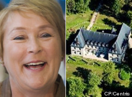 Quebec's premier designate used to live in a sprawling mansion in Île Bizard near Montreal. The castle was sold for just under $7 million earlier this year. (CP/Centris)